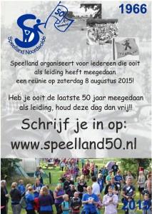 50 jaar poster Speelland